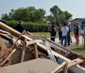 Tornado Damage in Oklahoma