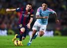 Barcelona Forward Lionel Messi against Celta Vigo