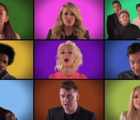 Rendition of 'We are the champions' Jimmy Fallon, the Roots and Other Superstars
