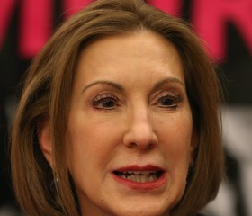 Carly Fiorina Speaks At Panel Discussion On Conservative Principles And Women