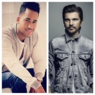 Romeo Santos and Juanes