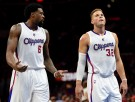 Los Angeles Clippers Players Blake Griffin and DeAndre Jordan