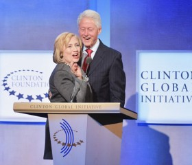 Bill Clinton 'proud of' but absent from Hillary's campaign