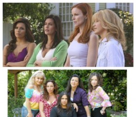"""Desperate Housewives"" and the cast of ""Now en Español"""
