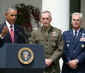 Obama Announces Gen. Joseph Dunford Jr. As His Pick To Be The Next Chairman Of The Joint Chiefs Of Staff