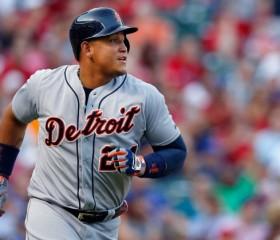Detroit Tigers Infielder Miguel Cabrera