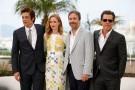 Actors Benicio Del Toro, Emily Blunt, director Denis Villeneuve and actor Josh Brolin