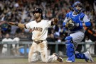 San Francisco Giants Outfielder Angel Pagan
