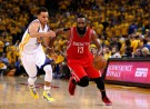 Houston Rockets Guard James Harden and Golden State Warriors Guard Stephen Curry