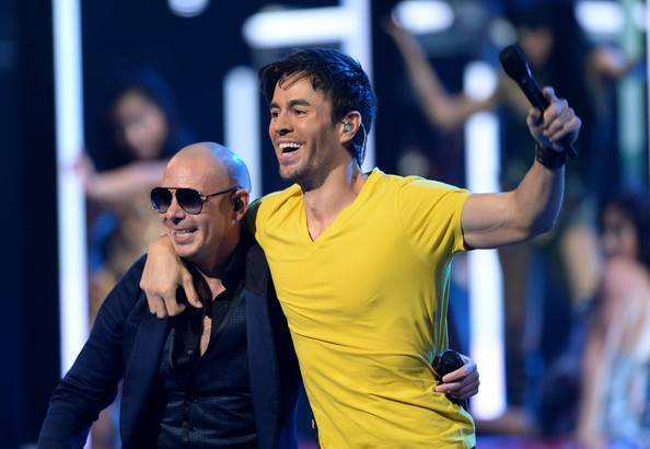 Pitbull and Enrique Iglesias