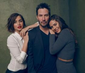 Keanu Reeves, Lorenza Izzo and Ana de Armas