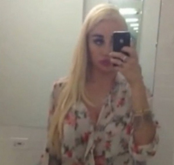 Amanda Bynes posted this selfie to her Facebook page and Instagram ...