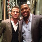 """Magic Mike XXL"" Stars Channing Tatum and Michael Straham"