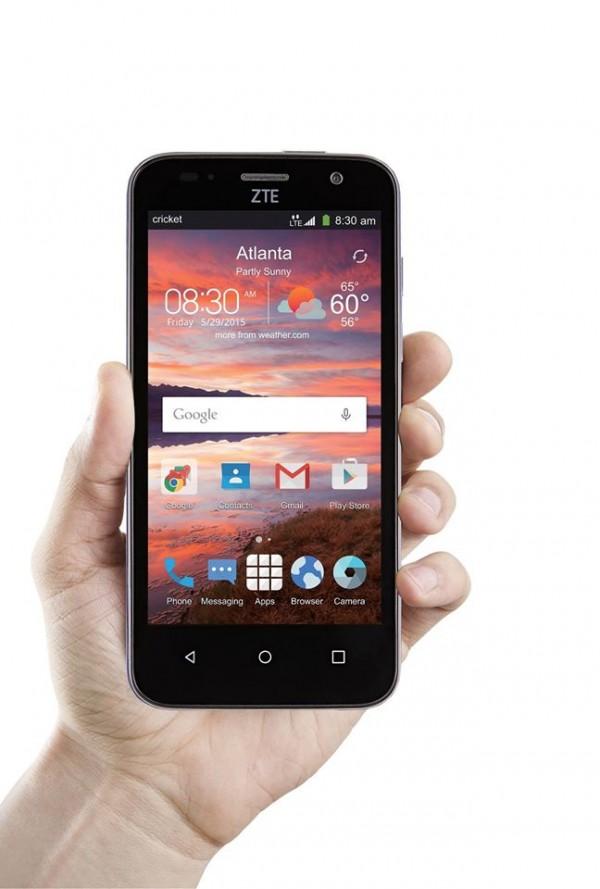 zte maven android smartphone promises