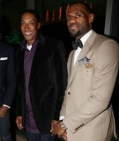 Scottie Pippen and LeBron James