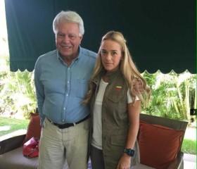 Wife of Leopoldo López Seeks International Support for Jailed Venezuelan Opposition Leader