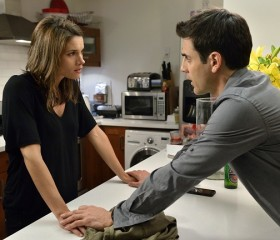 """Rookie Blue"" Andy and Sam"