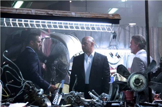 Paul Walker, Vin Diesel, Kurt Russell