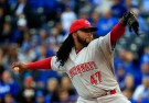 Cincinnati Reds Pitcher Johnny Cueto