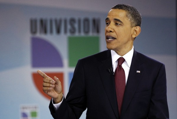 Univision, Barack Obama, Latinos, Town Hall, Latino politics