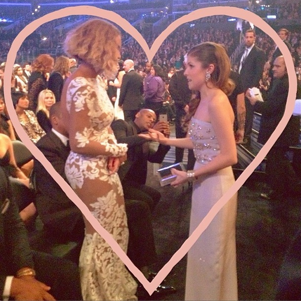 Anna Kendrick Extremely Excited at Meeting Beyonce During the Grammys