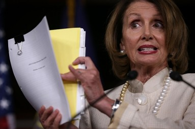 Pelosi: House Dems Have Votes to Back Obama on Iran Deal