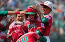 Mexico Little League Team Celebrate