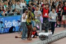 usain bolt fall