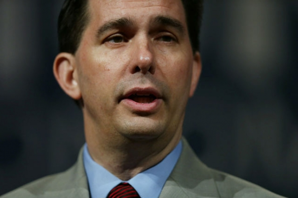 Walker campaign walks back Canada border wall idea