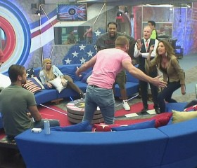 Austin Armacost and Farrah Abraham - Celebrity Big Brother
