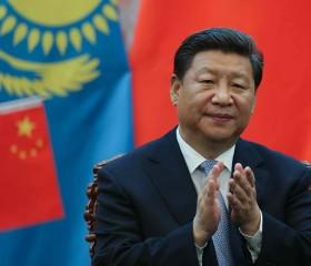 Chinese President Xi Jinping Meets Kazakhstan President Nursultan Nazarbayev