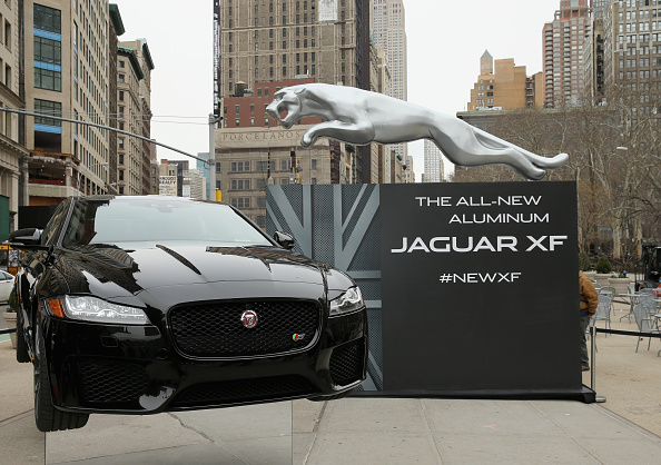 Jaguar Reveals All New All Aluminum XF In Flatiron District Of New York City Latin Post