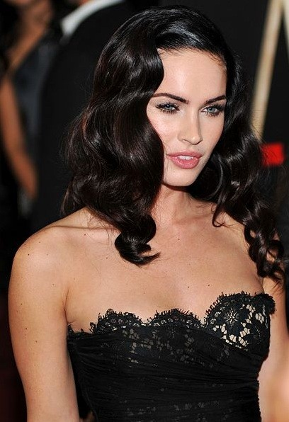Megan Fox looking all dolled up