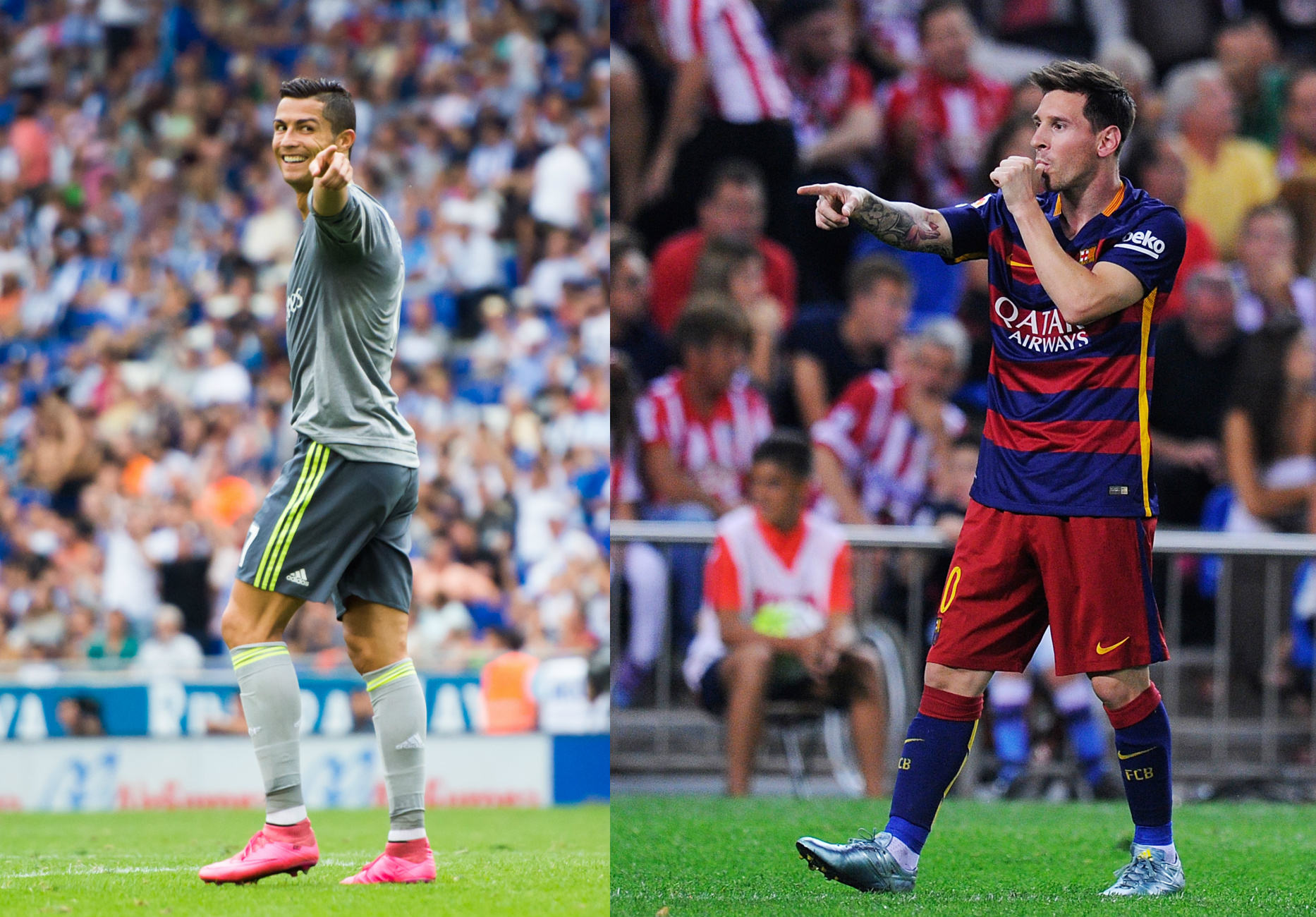 ronaldo vs