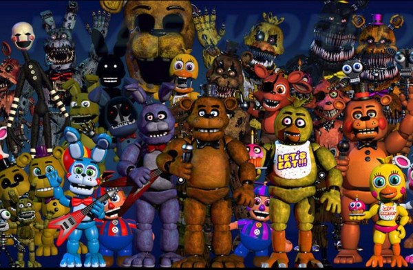 Five nights at freddy s rpg titled fnaf world coming to android ios