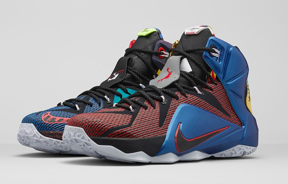Nike Release Dates 2015: LeBron 12 'What The' & Air Foamposite One ...