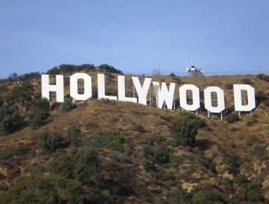 Shooting in Hollywood