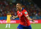 Chile Forward Alexis Sanchez