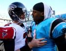 Carolina Panthers & Atlanta Falcons Quarterbacks Cam Newton and Matt Ryan