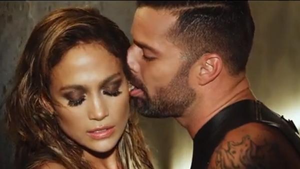 """Jennifer Lopez & Ricky Martin in Wisin's """"Adrenalia"""""""