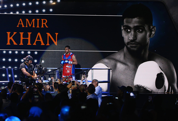 PBC: Amir Khan v Chris Algieri