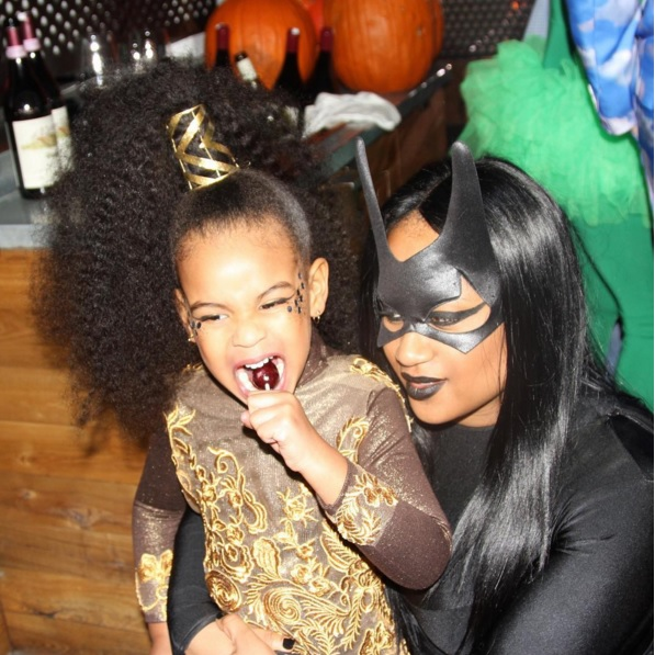 Terrific Blue Ivy Carter 2015 Photos Beyonce Jay Z And Blue Dress Up As Short Hairstyles Gunalazisus
