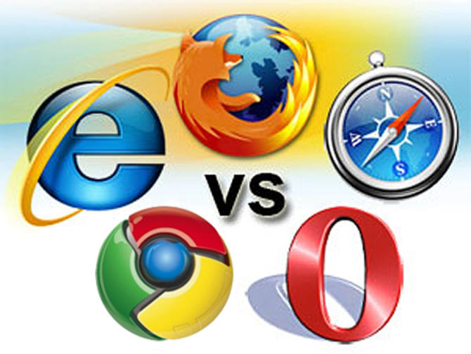Chrome vs. IE vs. Safari vs. Firefox