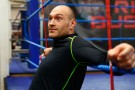 Tyson Fury Media Workout