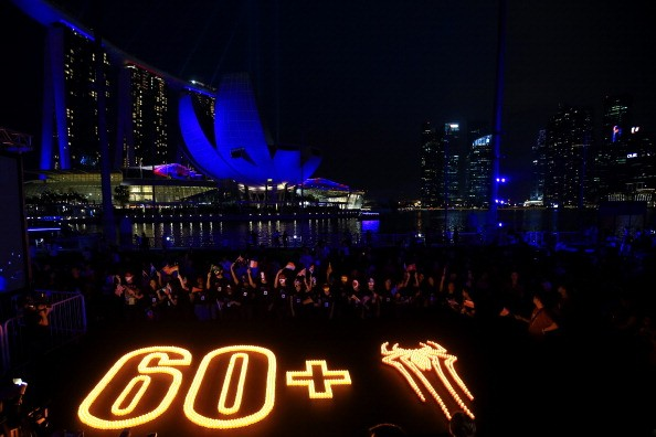 Earth Hour Kick-Off With Spider-Man, The First Super Hero