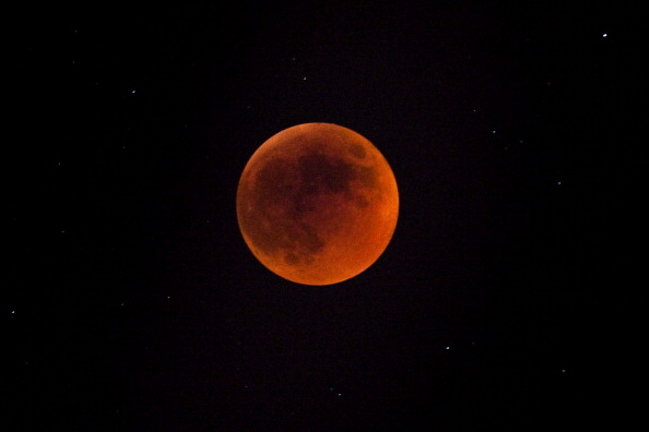 Total Lunar Eclipse In Jersualem