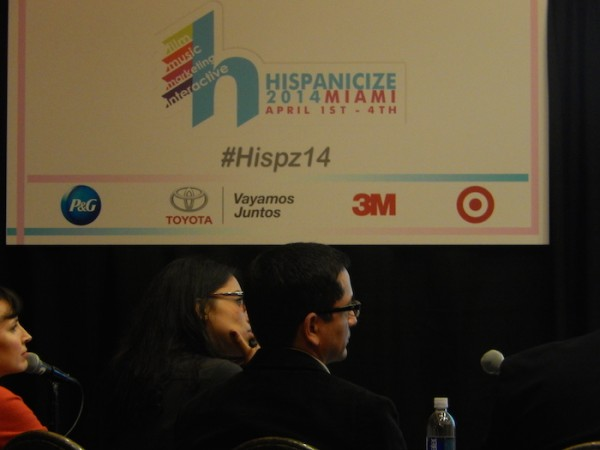 Judges' panel at the Latino Startup of the Year finals at Hispanicize 2014. (LatinPost: Keerthi Chandrashekar)