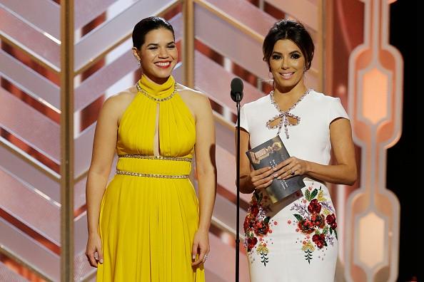 American Ferrera, Eva Longoria, Golden Globes