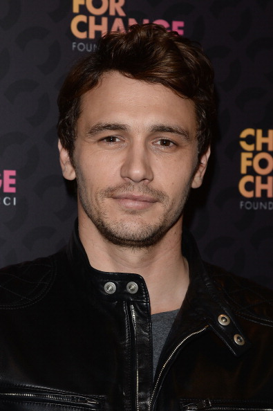 "James Franco Arrives at ""Chime For Change: The Sound Of Change"""