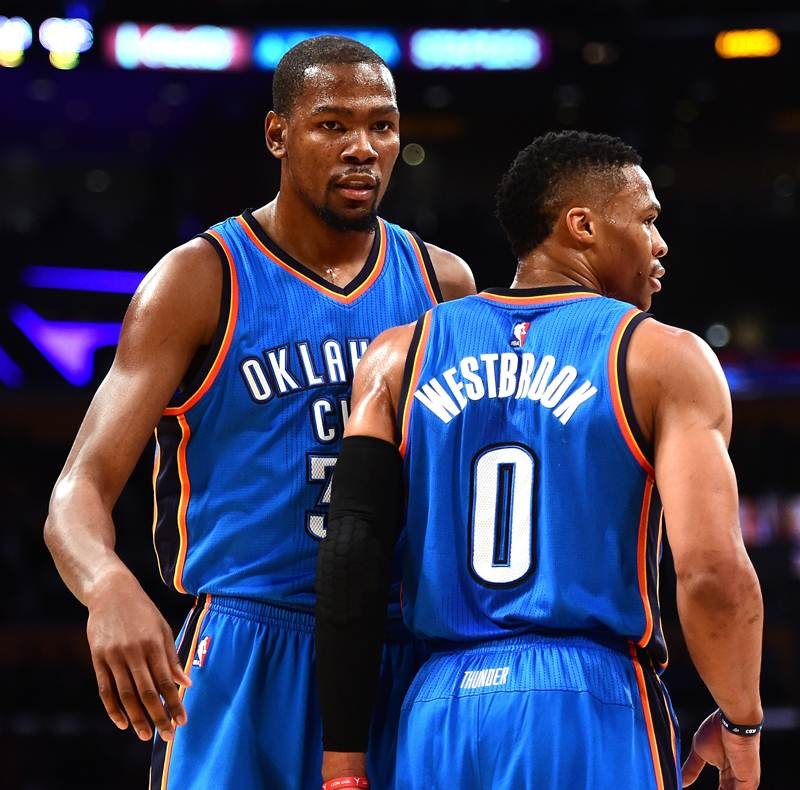 Possibility Durant, Westbrook Can Team Up With Lakers?